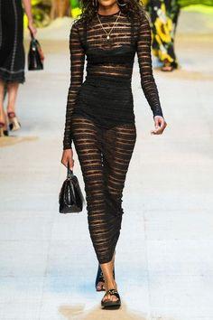Dolce & Gabbana - Embroidered Velvet Slides - Black