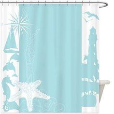 Lighthouse Shower Curtain 145R