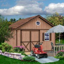 Best Barns Brandon 12' X 20' Wood Shed Kit //  Description The 12; wide Brandon shed kit is available in (4) four lengths, 12' thru 24'.The 5 '- 4 wide door opening should accommodate your lawn equipment. Doors can be installed in the center or offset to the right or left side of the front wall. The Brandon features a 10 overhang over the entry doors. This is a ready to assemble wood storage build// read more >>> http://Sha925.iigogogo.tk/detail3.php?a=B00FY3SM3A