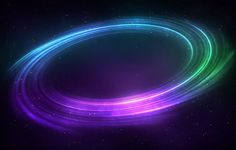 Space Wallpaper HD Circle Colorful