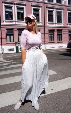 Danica pants grey Pernille Fristad Kepaza street style, colourful, celebrations and playful designer fashion brand Fashion Designer, Fashion Brand, Fashion Show, Norwegian Fashion, Fashion Labels, Colorful Fashion, Cute Tops, Women Wear, Feminine