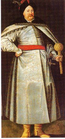 Janusz Radziwill wearing another zupan/delia ensemble  16th and 17th century Polish Dress — Zupan   Reconstructing History