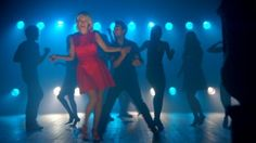 Denise Van Outen dances her way through a scene from Red C's Hoseasons TV Advert