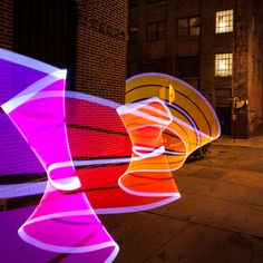 Light Painting with Pixelstick