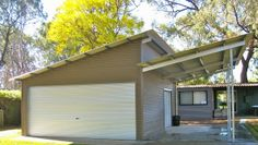 A Skillion Shed Or Lean To Roof Is A Single Sloping Roof