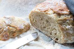 No Knead Bread: schnelles Brot ohne Kneten - Rezept-Varianten No Knead Bread, Food, Quick Bread, Oven, Food Food, Simple, Essen, Meals, Yemek