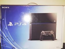 Sony PlayStation 4 (Latest Model) 500 GB Jet Black Console PS4 System Brand New