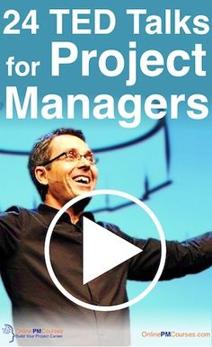 24 TED Talks for Project Managers. You may already be aware what a fantastic resource TED is. But what are the best TED talks for Project Managers?