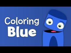 English Corner Time: BabyFirstTV: Color Crew - Learn Colors - Blue | Color Lesson for Kids http://englishcornertime.blogspot.com