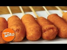 Pizza Corndogs - Twisted