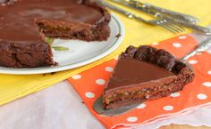 crostata sacher fb - Inventaricette, In cucina con Maria Learn To Cook, Gelato, New Recipes, Delicious Desserts, Buffet, Food And Drink, Sweets, Cookies, Chocolate