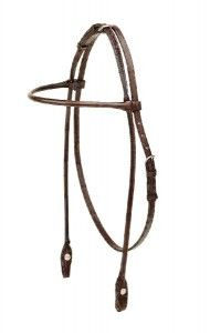 TORY LEATHER English Bridle Leather Rolled Arabian Browband Headstall. From the original Tory Leather - MADE IN USA. This selection of straps is designed to fit and