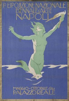 Ia Esposizione Nazionale Biennale d'Arte Napoli  [1st Biannual National Exposition of Neapolitan Art], 1921