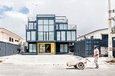 Completed in 2017 in Lagos, Nigeria. Images by Medina Dugger and Deji Atte. This project is a technology accelerator and co-working space in Lagos, Nigeria. During the summer of 2016 a competition was launched to design a...