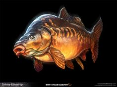 Fish Art by Tommy Kinnerup – Drowning Worms – Fish Supplies Carp Fishing Tips, Fishing Tackle, Fishing Lures, Fishing Basics, Fishing Knots, Fishing Guide, Sea Fishing, Saltwater Fishing, Pesca Spinning