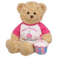 Birthday Bear Happy Hugs Teddy - Build-A-Bear Workshop US