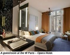 The first W Hotel in France http://www.starwoodhotels.com/whotels/offers/search/results/grid.html?groupId=WOHSH=RC:LBPKG=RP:LAPKG=3487 will open its doors Feb. 14.  The 91-room W Paris - Opera Hotel will be located in a 19th century building across from the Opera Garnier.  The design will include a mix of contemporary and historical features, including original stained glass windows and mosaic floors. Other features will include a restaurant, bar and fitness center/spa, as ...