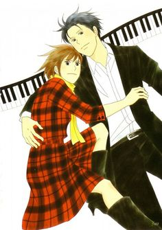 Nice anime artbook from Nodame Cantabile uploaded by SaTaNeL - Nodame Cantabile Hug 01 Cute Anime Couples, Anime Shows, Funny Stories, Actors, Pictures Images, Anime Comics, Shoujo, Image Boards, Drawing Reference
