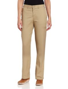 Dickies Women`s Women`S Wrinkle And Stain Resistant Cargo Multi Pocket Pant