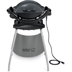 Weber Q140 Portable Electric Grill With Stand