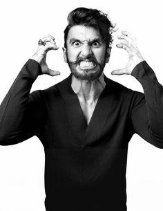 Ranveer Singh en portada de GQ India Septiembre 2013