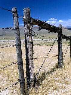 build a barb wire gate