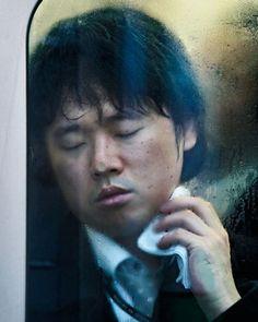 Michael Wolf's painful, lyrical portraits of subway riders, Hong Kong.