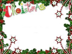 Transparent Christmas PNG Photo Frame