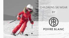 Childrens SKI WEAR BY POIVRE BLANC