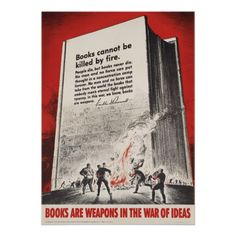 Vintage library poster - books are weapons in the war of ideas. Fdr Quotes, Book Quotes, Literary Quotes, Quotable Quotes, Motivational Quotes, I Love Books, Books To Read, My Books, Walt Whitman