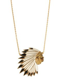 Feidt collier tête d'indien http://www.vogue.fr/joaillerie/shopping/diaporama/pendentifs-american-dream-cowboy-indien-sherif-plume/12094/image/728543#feidt-collier-tete-d-039-indien