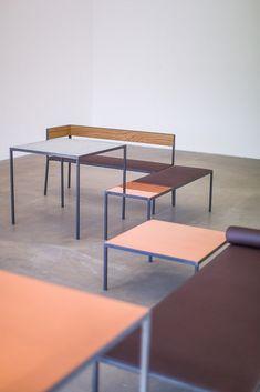 Melbourne tables by Sigurd Larsen