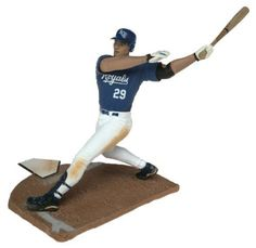 McFarlane Toys MLB Sports Picks Series 6 Action Figure Mike Sweeney (Kansas City Royals) Blue Jersey