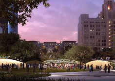 Civitas Landscape Architecture and wHY's proposal for Pershing Square