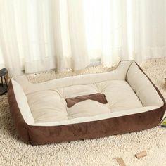 Soft Overstuffed Dog Bed