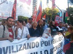 Desde Argentina, los amigos de la Revolución Bolivariana afirmaron que lejos de significar una amenaza Venzuela promueve la fraternidad entre naciones y pueblos.