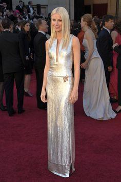 Gwyneth Paltrow in Calvin Klein, 2011 Oscars