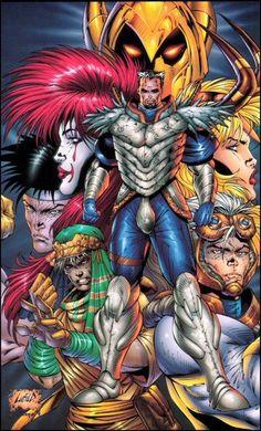 Re:Gex Comic Book Artists, Comic Books Art, Comic Art, Comics Love, Image Comics, Dc Comics Vs Marvel, Deadpool Costume, Iron Men 1, Rob Liefeld