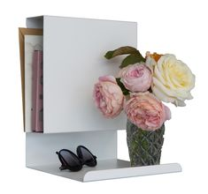 Ledge:able White Shelf by Anne Linde