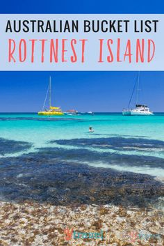 We had Rottnest Isla