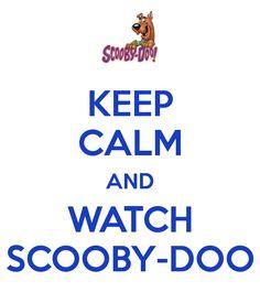Love Scooby Doo! i know i doo