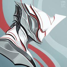 Tenno: Excalibur by steelsuit Character Art, Character Design, Character Concept, Warframe Art, Warframe Prime, Warframe Excalibur, Armor Concept, Concept Art, Ex Machina