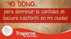 Donando cosas que ya no se utilizan ayuda a que otras personas puedan darle uso y de esa forma se evite que los objetos que ya no prescindamos acaben tirados en la basura.  Puedes contactarnos ahora mismo en los siguientes medios: Central: 258-3889 RPC: 943520010 Email: donaciones@traperosdesanpablo.org www.traperiasanpablo.org #Reciclaje #Donación #Ecología #Perú #Traperos #Traperia