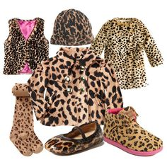Leopard Print Baby Shower | Animal Print Clothing For Girls