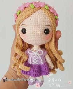 Вяжем куколку — принцессу амигуруми