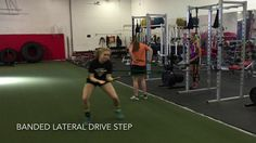 Adding band resistance to a volleyball players defensive movements can really help improve the athletes speed at which they get to the ball. The resistance helps… Volleyball Workouts, Volleyball Players, Speed Workout, Athlete, Exercise, Band, Ejercicio, Sash, Excercise