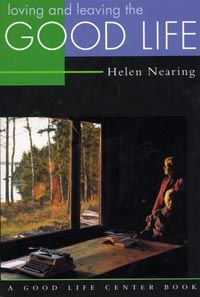 Helen Knothe Nearing's memoir of her life and collaboration with Scott Nearing