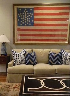 Now I know how to frame my 48 star flag!