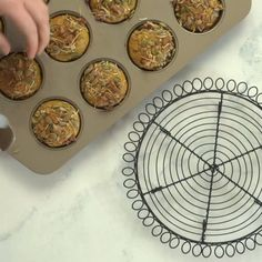 Spiced Coco-Nutty muffins