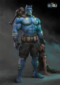 Fantasy Wizard, Fantasy Art Men, Fantasy Warrior, Character Concept, Character Art, Character Design, Dnd Characters, Fantasy Characters, League Of Heroes